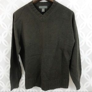 Banana Republic 100% Merino Wool V-Neck Sweater